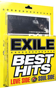 【2CD+3DVD】EXILE BEST HITS-LOVE SIDE/SOUL SIDE- 初回生産限定盤