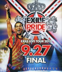 【Blu-ray】EXILE PRIDE ~EXILE LIVE TOUR 2013 9.27 FINAL~ フォトブック付