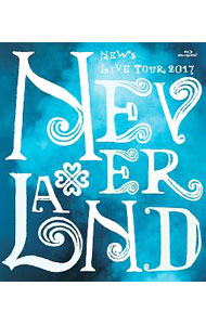 【Blu-ray】NEWS LIVE TOUR 2017 NEVERLAND ポストカード4枚付